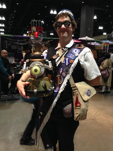 Steampunk Tom Servo!