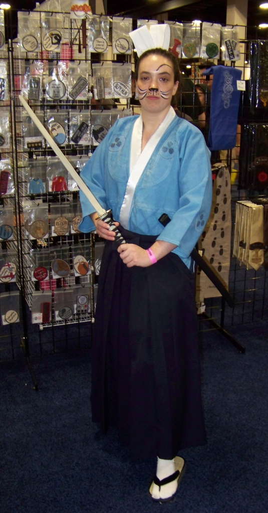 Usagi Yojimbo. Please note the raised eyebrow. I love little touches like that.