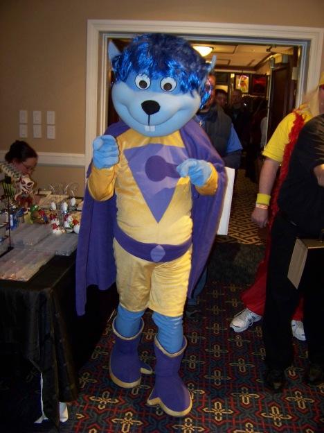 The first Gleek cosplay I've ever seen.