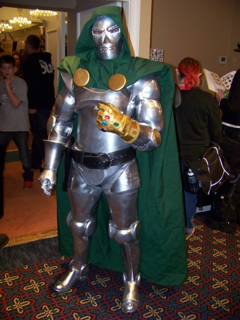 Doom loves conventions almost as much as Doom loves referring to Doom in the third person.