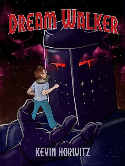 """Artwork by and Copyright Tricia Lupien. """"Dream Walker"""" Copyright Kevin Horwitz."""