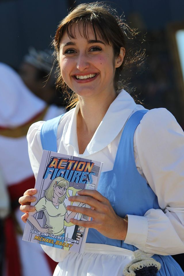 My favorite of the bunch: my friend Alyson as Belle. Yes, AF #1 is Belle-approved! Photo by Eric Tetreault.